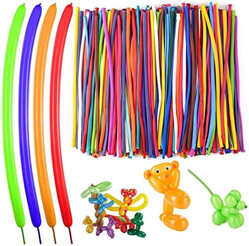 Beyond Dreams® 100 Stück Bunte Ballons zum Verdrehen | Luftballons Verdrehbar | Geburtstag Hochzeit Kindergeburtstag Party Kunstwerk Dekoration | Farbige Luftballone