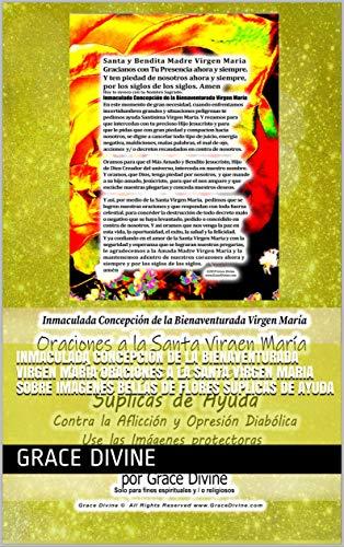Inmaculada Concepción de la Bienaventurada Virgen María Oraciones a la Santa Virgen Maria Sobre Imagenes Bellas de Flores Suplicas de Ayuda