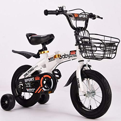 Best Deals! Ssltdm 12 inch 2-5-6-9 Years Old boy Female Treasure Bicycle Folding Children Bicycle