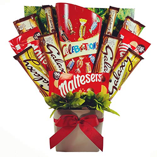 Large Galaxy Celebrations Chocolate Bouquet Gift Hamper in Presentation Box