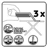 LaundrySpecialist® ULTRA REFLECT L/XL Bügelbrettbezug mit zusätzlicher Hitzereflektion. Oberfläche aus Aluminium beschichtet 100 % Baumwolle und zur optimalen Dampfverarbeitung perforiert - 7