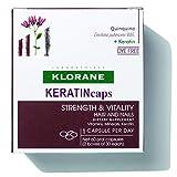 Klorane KERATINcaps Dietary Supplements with Biotin, Quinine, B Vitamins,...