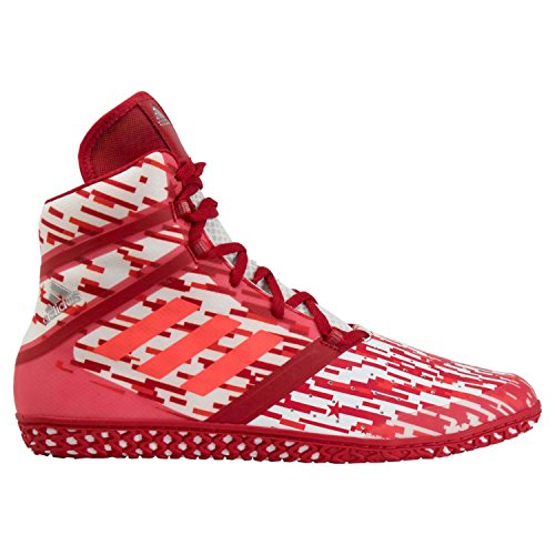 adidas Impact Red Diggital Wrestling Shoes Red 10
