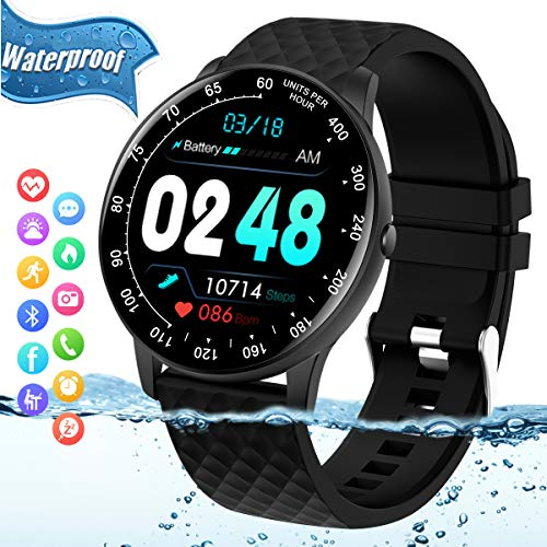 Best blood pressure watch - Smart Watch,Fitness Tracker Watch with Heart Rate Blood Pressure Monitor IP67 Waterproof Bluetooth Smartwatch Sports Activity Tracker Smart Bracelet for Men Women Kids Compatible Android iOS Phones