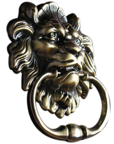 UniDecor Antique Lion Door Knocker Lion Head