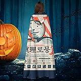 AISFGBJ The Waldo Moment Kim Jong Un - Disfraz de Bruja con Capucha para Halloween
