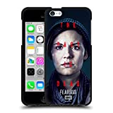 Head Case Designs Officially Licensed Fear The Walking Dead Althea Season 6 Characters Black Soft Gel Case Compatible with Apple iPhone 5c