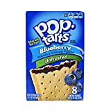 Kelloggs Pop-Tarts blueeberry Unfrosted 8 piece (416g)