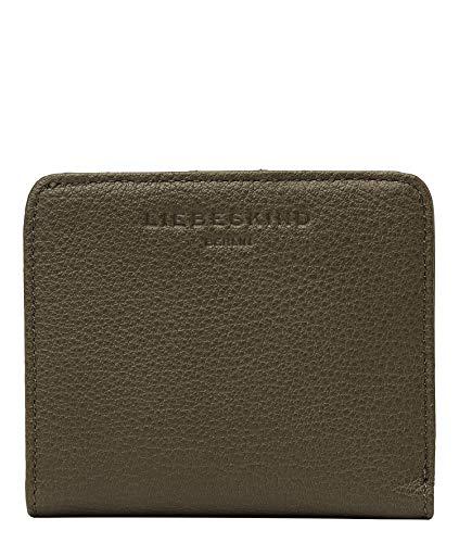 Liebeskind Berlin 008-BADahliaW1-Basic-umber, Accesorio de Viaje- Billetera para Mujer, Umber Green, 10x8.5x1 cm