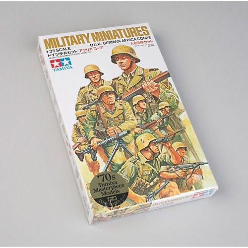 Tamiya 300035037–1: 35WWII Figures Set German Afrika Korps