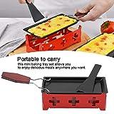 Omabeta Raclette Grill Raclette de Queso Fuerte Duradero Conveniente de Usar Rotulador de Queso Antiadherente Cocina Resistente para el hogar