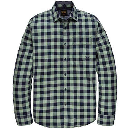 PME Legend shirt met lange mouwen Twill Check Fabr