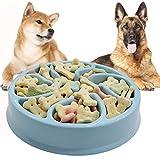 Cuenco para Perros de Alimentación Lenta, Comedero para Mascotas, Alimentación lenta interactiva para evitar la asfixia, Alimentador lento para Perros Grandes