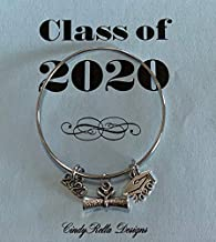 2 BSN Charms Bachelor of Science Nursing Antique Silver Tone SC5503