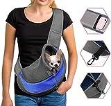 Tragetasche Haustier Schultertasche Single Schulter Sling Bag Tragetuch Hund Tragbar Katzen...