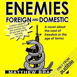 Enemies Foreign and Domestic audiobook cover art