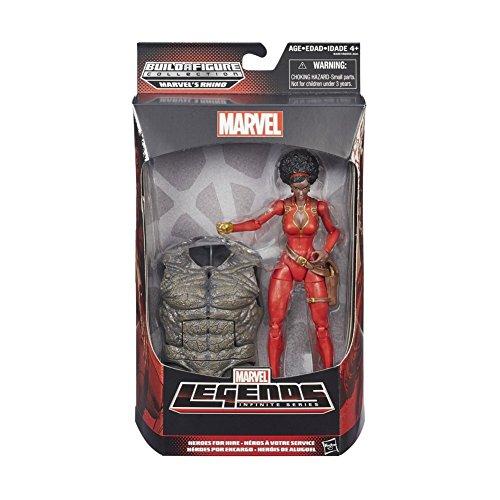 Marvel Legends 15,2cm Spiderman Rhino Serie Misty Knight