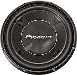 pioneer ts-wx130ea flacher subwoofer attivo nero 30cm universalsubwoofer Pioneer TS-300D4 - Subwoofer universale con doppia bobina, colore: Nero