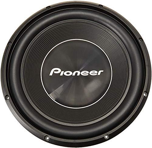 Pioneer TS-300D4 - Subwoofer con bobina acustica doppia 4 Ohm, 1400 W, 30 cm, membrana IMPP per un suono potente, potenza nominale di ingresso 400 W, colore: Nero