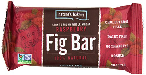 Nature's Bakery Whole Wheat Fig Bar, Raspberry, 2 Ounce (Pack of 12)