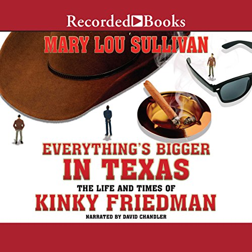 Everything's Bigger in Texas audiobook cover art