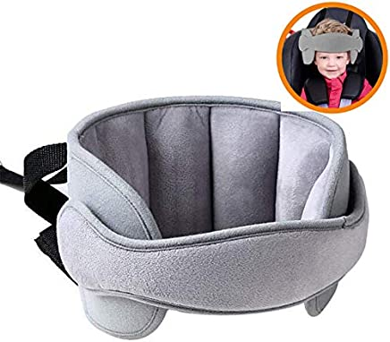 Car Seat Head Supports Neck Support Neck Relief Head Strap Nap Aid Holder for Toddler Child Kids Infant by ABenkle Baby Car Seat Head Support Band Baby Carseat Head Support