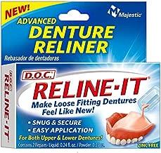 D.O.C. Reline-It Advanced Denture Reliner Kit ( Pack of 2)