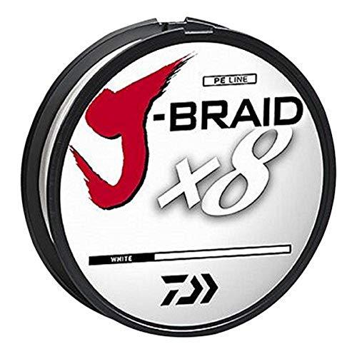 J-BRAIDX8, Filler Spool, White, Mono Dia.= 16lb.