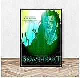 liuyushuo Poster Braveheart Film Leinwand Malerei Poster