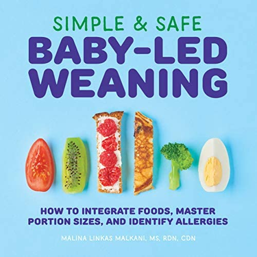 Simple Safe Baby Led Weaning How to Integrate Foods Master Portion Sizes and Identify Allergies product image