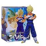 Qwead 19Cm Dragon Ball Vegetto Anime Figura De Acción, Goku Vegeta Figma DBZ Modelo PVC Vegetto Muñe...