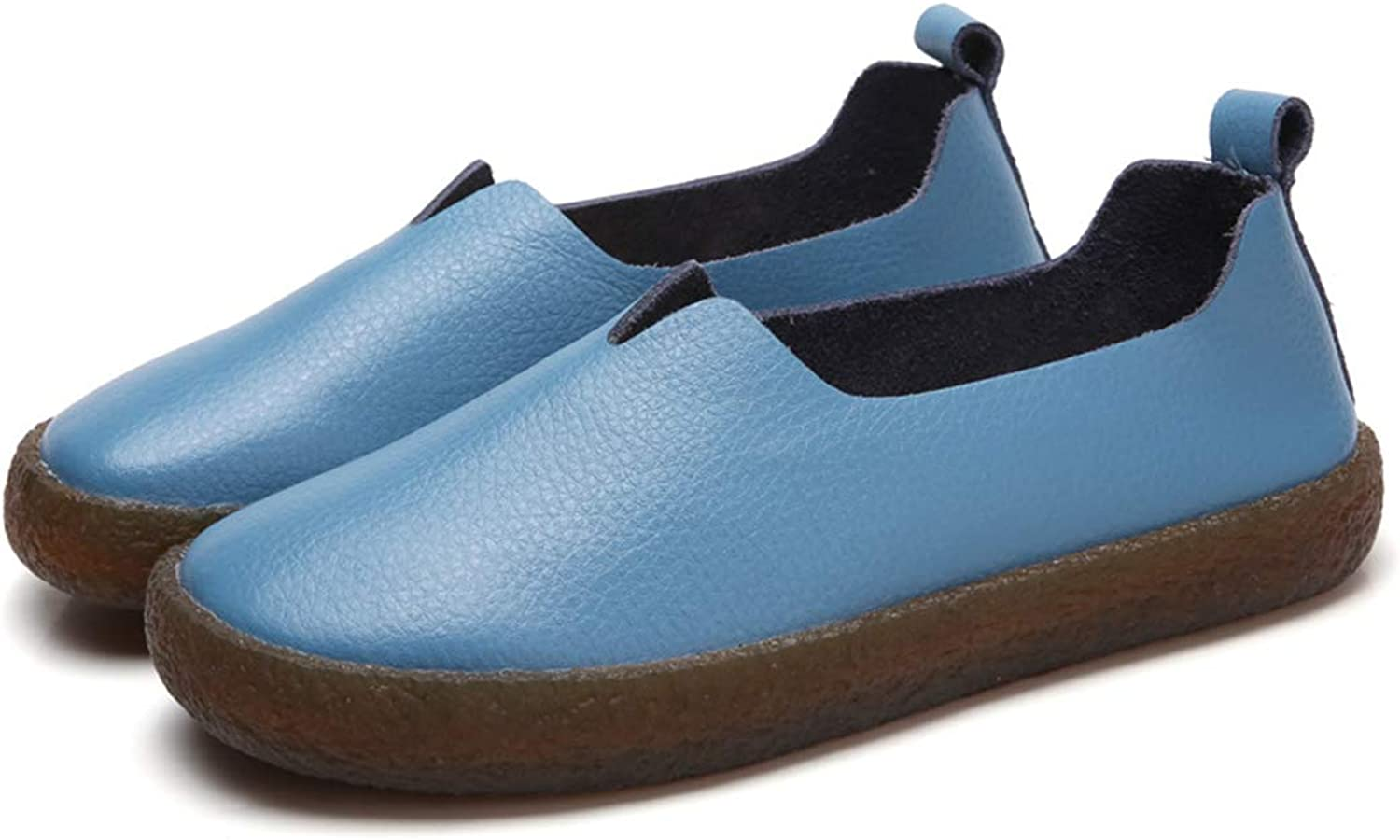 TinaFan Ladies shoes Casual Comfortable Flats Female shoes Genuine Leather shoes