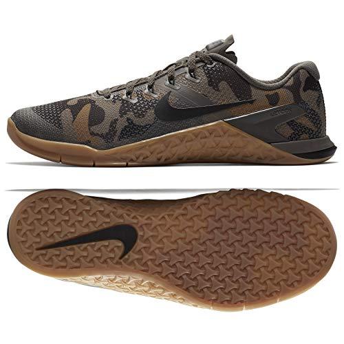 NIKE Men's Metcon 4 Camo Training Shoes (11.5, Brown/Camo)