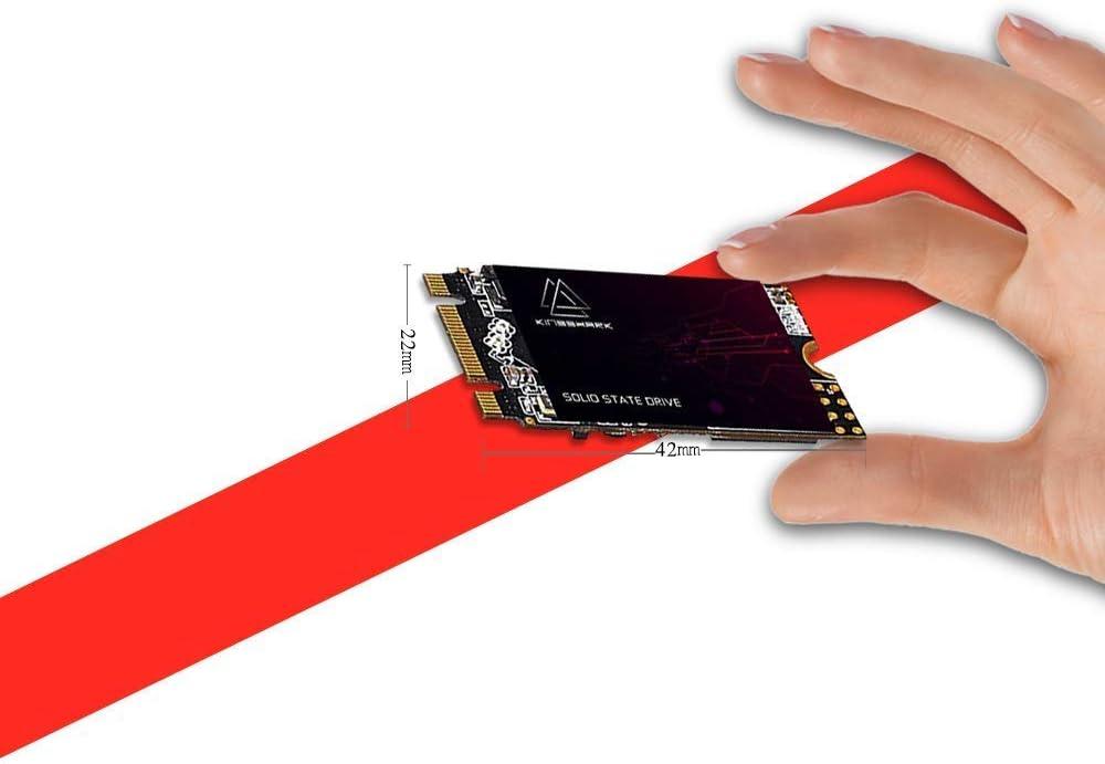 Kingshark gamer M.2 2242 SSD 1TB Ngff Internal Solid State Drive High-Performance Hard Drive for Desktop Laptop SATA III 6Gb/s Includes SSD (1TB, M.2 2242)