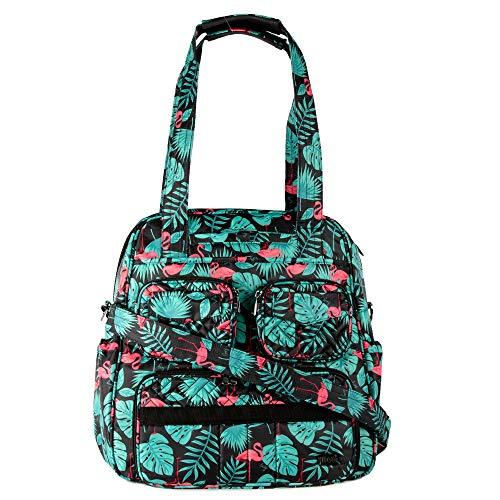 Lug Puddle Jumper SE Duffel Bag, Flamingo Black, One Size