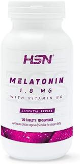 comprar comparacion Melatonina 1,8mg de HSN | Para Dormir Mejor + Mejorar el Sueño + Descanso por la noche + Combate los trastornos del Sueño,...