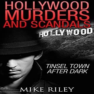 Hollywood Murders and Scandals audiobook cover art