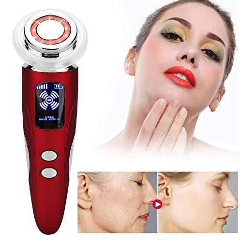 Machine de rajeunissement de la peau, couleur lumière ionique nettoyage de la peau sérum importation instrument de beauté soins de la peau beauté machine soin du(Rose rouge)