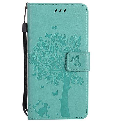 Nancen Compatible avec Sony Xperia Z3 (5,2 Pouces) Coque Haute Qualité PU Cuir Flip Étui Coque de Protection Wallet/Portefeuille Case Cover Housse - avec Carte de Crédit Fente