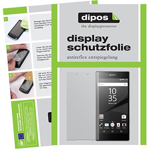dipos I 6X Schutzfolie matt kompatibel mit Sony Xperia Z5 Premium Folie Bildschirmschutzfolie (3X Vorder- und 3X Rückseite)