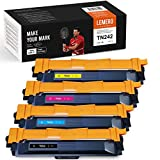 4 toner Lexero SUPERX compatibili con Brother TN242 TN246 TN-241 TN-245 per Brother HL-3152CDW HL-3142CDW HL-3172CDW DCP-9017CDW DCP-9022CDW MFC-9142CDN MFC-9332CDW MFC-9342CDW