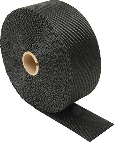 Design Engineering 010003 Black Titanium 2' x 50' Exhaust Heat Wrap with LR Technology