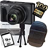 1A Photo PORST Offerta anniversario Canon Powershot SX730 HS fotocamera digitale nero + sc...