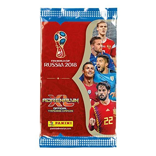 Panini Adrenalyn XL 2018 FIFA World Cup ™ Juego de cartas coleccionables de la Copa del mundo de la FIFA de 2018