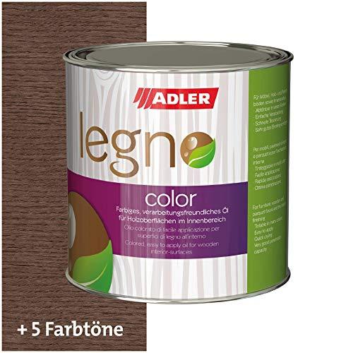 ADLER Legno Color - 750 ml Katalanien - Färbiges Holzöl für Innen - Profi Öl