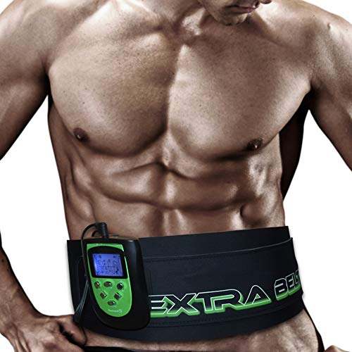 TESMED Cinturón Electroestimulador 7.7extra Belt para abdominales