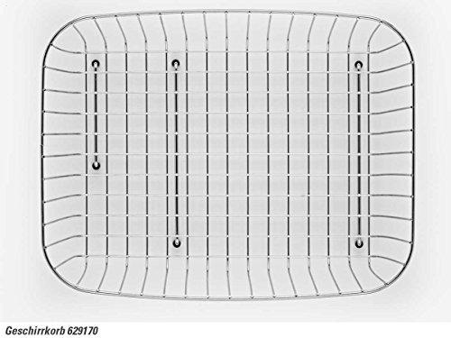 Schock 629170 Geschirrkorb Chrom für Eckspüle Typos und Signus 160 mm tief Körbe