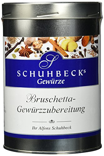 Schuhbeck Bruschetta Wuerzmischung, 1er Pack (1 x 450 g)