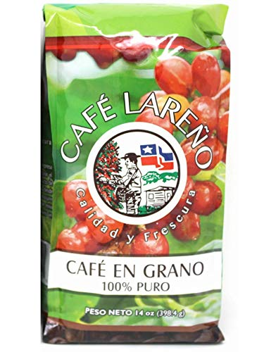 Lareno Keto Coffee from Puerto Rico 14Oz Roasted Coffee BEANS – Café Lareno de Puerto Rico 14 Oz EN GRANO. One Of The Best Puerto Rican Coffee
