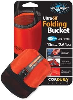 Sea to Summit Folding Bucket 10 Liter - (Orange)